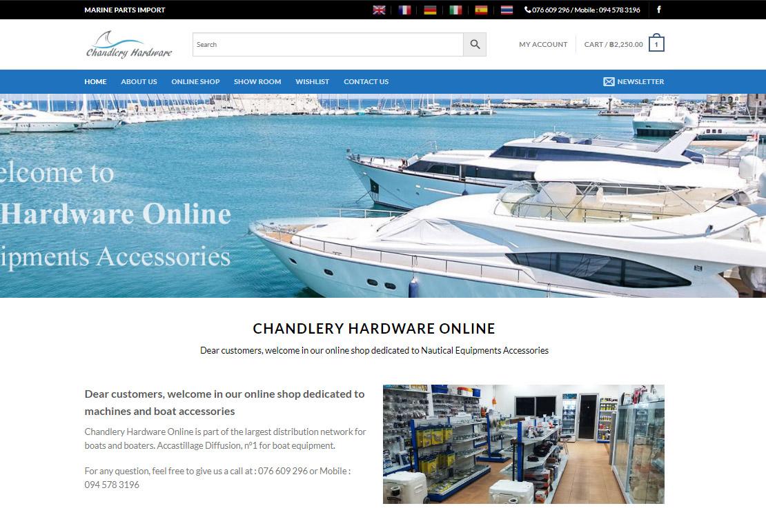 Marine Parts Import Thailand