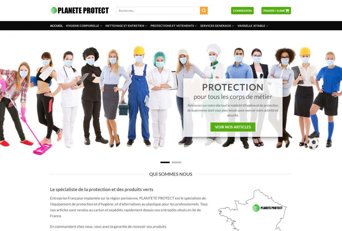 spécialiste de l'équipement de protection et d'hygiène